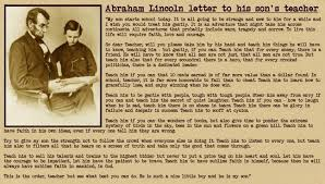 biography of abraham lincoln in english pdf a letter from abraham lincoln to his son s teacher blog ebg