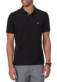 nautica short sleeve solid performance deck shirt belk