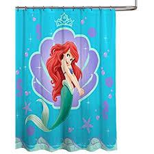 Vintage Mermaid Shower Curtain - amazon com disney mickey classic cool shower curtain home u0026 kitchen