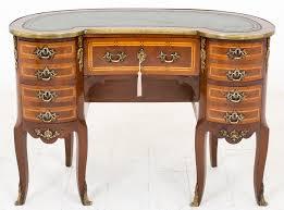 Kidney Shaped Writing Desk Mahogany French Kidney Shaped Ladies Writing Desk 407047