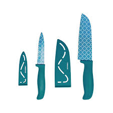 Farberware Kitchen Knives by Amazon Com Farberware 4 Piece Stick Resistant Cutlery Set Chefs