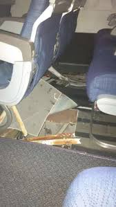 Hit The Floor Canada - new photos reveal the scene inside an air canada plane that