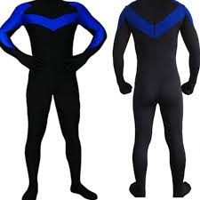 aliexpress com buy nightwing costume lycra spandex zentai