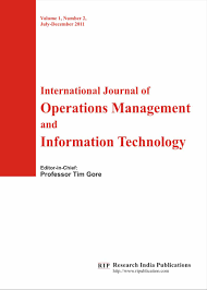 ijomit international journal of operations management and