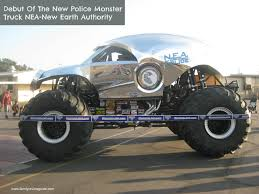 monster truck show schedule 2015 anaheim debut of the new monster truck nea u2013 new earth police