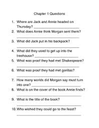on thursday magic tree house 27 book study guide questions