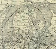 New York Central Railroad Map by 18 Historic And Not So Historic Maps Of Michigan
