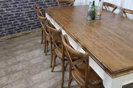 VICTORIAN PINE FARMHOUSE TABLE LARGE ANTIQUE PINE DINING KITCHEN TABLE - Victorian pine kitchen table