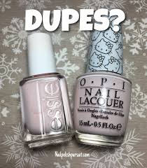 dupes essie peak show vs opi let u0027s be friends the polished pursuit