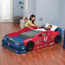 Blue Car Bed Creative Race Car Beds For Toddlers Homesfeed
