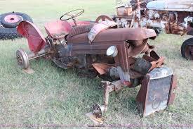 1961 massey ferguson 50 tractor item h5586 sold novembe