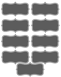 printable placecards make your own printable place cards 4 real