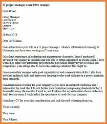 communications project manager cover letter writing a review