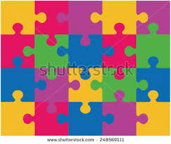 Cmyk Color Spectrum Puzzle 3 Jigsaw Pieces Stock Images Royalty Free Images U0026 Vectors