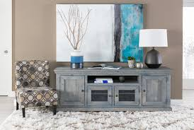 sinclair blue 74 inch tv console living spaces