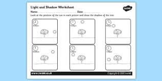 ks2 science light and sound worksheets resources page 1