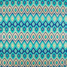 teal gold tri pattern gift wrap sheet