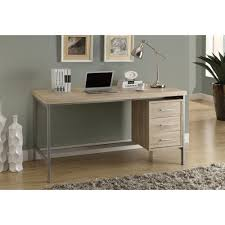 monarch specialties natural desk i 7245 the home depot