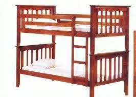 JAYDEN TIMBER BUNKS - Timber bunk bed