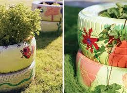 Creative Garden Decor 24 Creative Ways To Reuse Old Tires As A Garden Decoration