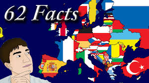Map Of Europe For Kids by 62 Interesting Facts About Europe Youtube
