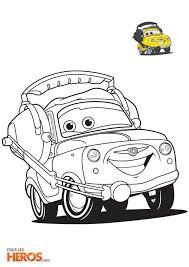 Coloriages Cars à imprimer gratuitement sur le blog de TouslesHéros