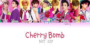 Cherry Bomb Hair Color Nct 127 Cherry Bomb Color Coded Han Rom Eng Lyrics Mincy