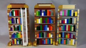 how to build lego bookshelves youtube
