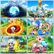 Maplestory Chairs Maplesea Chairs Galore Video Gaming Video Games On Carousell