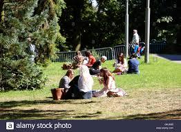 Botanic Garden Belfast by People Having Lunch Sitting On Grass In Botanic Gardens Belfast
