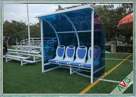 Stadium Bench Stadium Mobile Football Field Equipment Soccer Player Team Bench