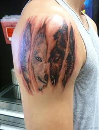 50 amazing wolf tattoos for shoulder
