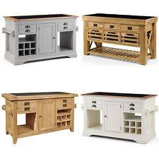 kitchen island oak oak kitchen island ebay