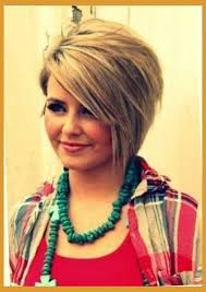 medium length hair cuts overweight short haircuts for fat round faces pertaining to warm hairstyles