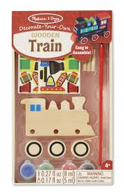 Train Decor Your Own Wooden Train Engine