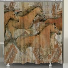 horse kitchen curtains western shower curtains at lone star western decor