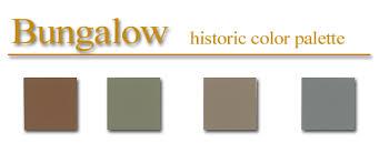 historic color palette bungalow style artsparx color palette