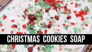 christmas cookies soap royalty soaps youtube