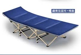 Folding Bed Chair Folding Bed Chair Office Nap Single Bed Portable Outdoor Camping