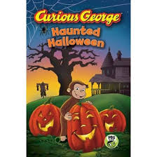 curious george haunted halloween curious george hardcover