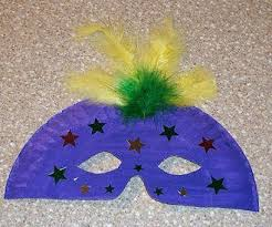 cheap mardi gras mardi gras mask made from paper plate and feathers clever cheap