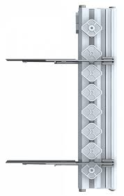 drawer slide locking mechanism features and systems for drawer slides regout