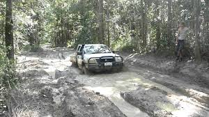 holden rodeo 4x4 in mud youtube