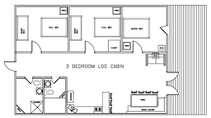 3 bedroom cabin floor plans the layout of our 3 bedroom log cabin cabin fever