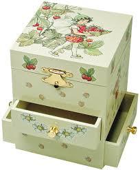 childrens jewelry box trousselier flower fairies three drawer box co uk