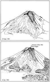 historical eruptions of merapi volcano central java indonesia