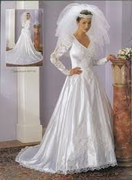 jcpenney wedding gowns 90s wedding dress big shoulders and sleeves became a popular