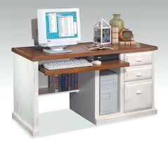 Realspace Dawson Computer Desk Realspace Dawson Computer Desk Furniture White Stained Wood Table