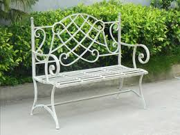 Aluminium Garden Chairs Uk Stackable Seater Garden Bench In Resin String And White Metal Pics
