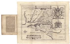 Map Of New England Colonies by Early Settlers Charts And Maps